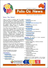 Polio Oz News March 2015